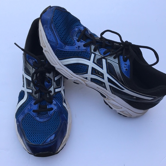 asics gel mens running trainers size 11
